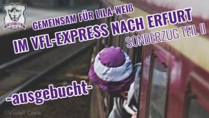 VfL Sonderzug Erfurt