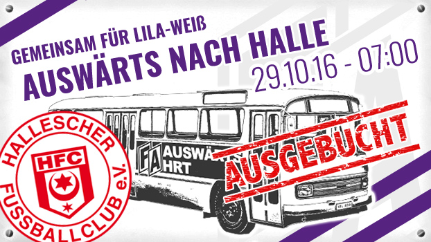 VfL Osnabrück Auswärts Halle - ausgebucht