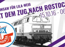 VfL Auswärts Hansa Rostock Bahn